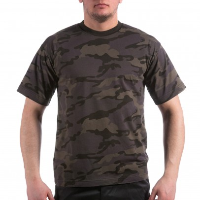Камуфлажна тениска MFH