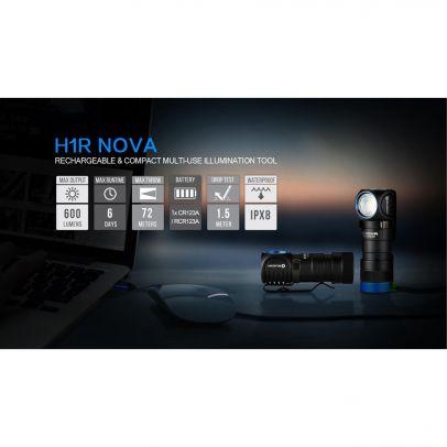 Челник Olight H1R Nova 600lm 202717-01