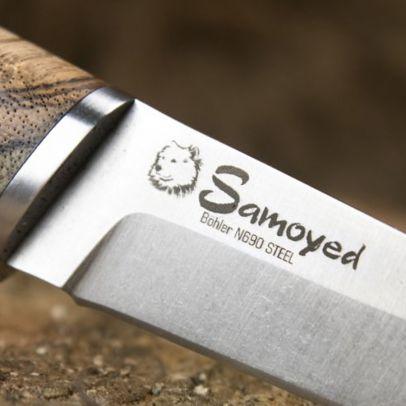 Нож Samoyed N690 Zebrawood 202186-01