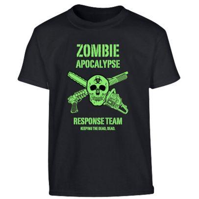 Детска тениска Zombie Apocalypse 201880-01