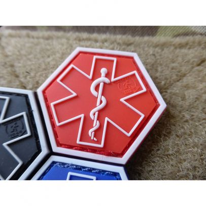 Гумена нашивка Paramedic Hexagon 202757-01