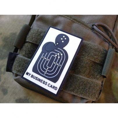 Гумена нашивка Business Card 202759-01
