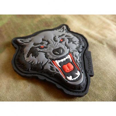 Гумена нашивка Angry Wolf 202768-01