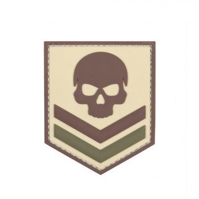 Гумена нашивка 3D Skull 202778-01