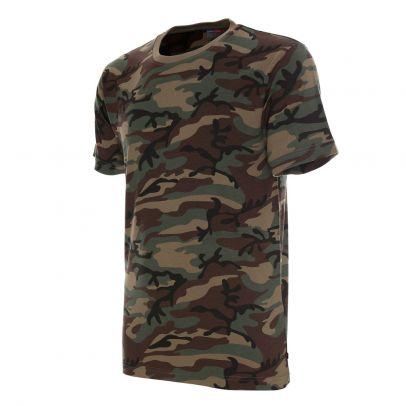 Камуфлажна памучна тениска Heavy 204232-01