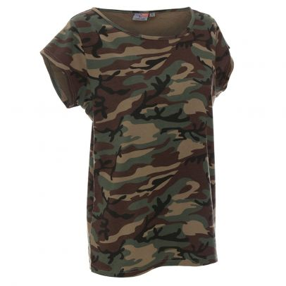 Дамска камуфлажна тениска Woodland 204336-04