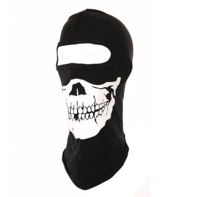 Мотоциклетна маска за лице с череп 201131-01