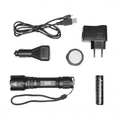Фенер Mactronic BLACK EYE 420 с ак. батерия 201006-01