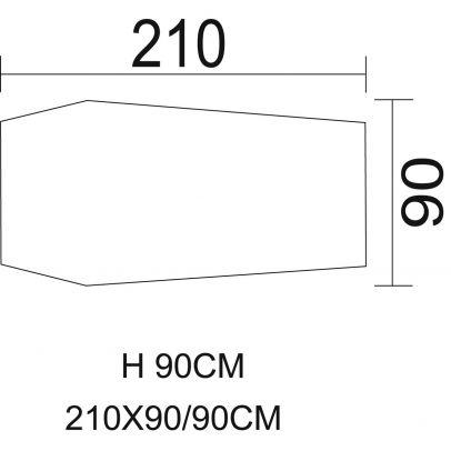 Едноместна тунелна палатка BW-CAMO 204176-01