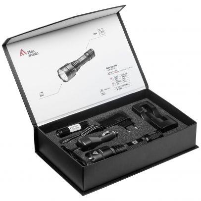 Фенер Mactronic BLACK EYE 780 с ак. батерия 201005-01