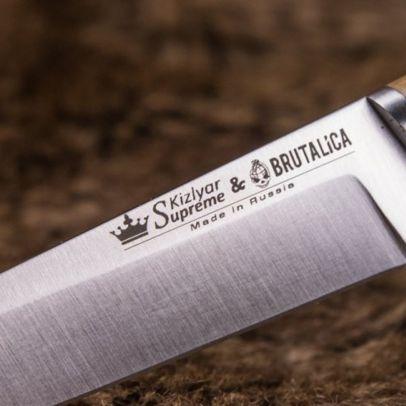 Нож Malamute Niolox Walnut 202187-01