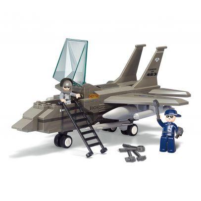 Конструктор Sluban Fighther Jet 203489-02