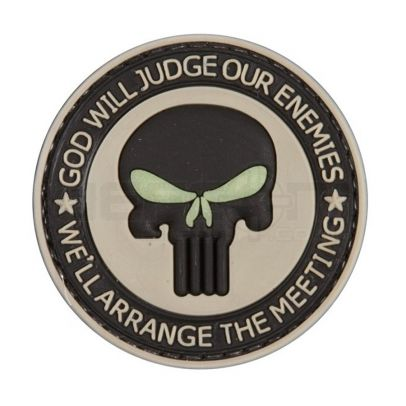Гумена нашивка God Will Judge 202173-01