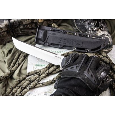 Боен нож Kizlyar Senpai Aus8-S Black 201957-01