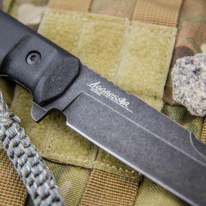 Боен нож Kizlyar Aggressor AUS-8-TacWash 201951-01