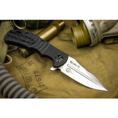 Сгъваем нож Kizlyar Bloke-Z D2 Stonewash 203483-01