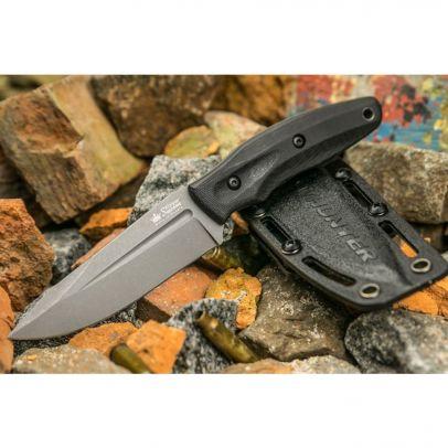 Боен нож Kizlyar CityHunter PGK TacWash Black G1 201954-01