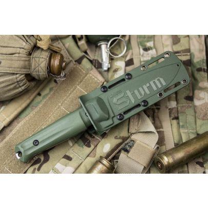 Боен нож Kizlyar Sturm Aus-8 Olive 201445-01