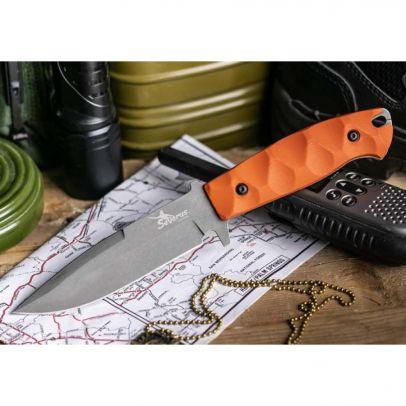 Нож Kizlyar Severus D2 TacWash Orange 202835-01