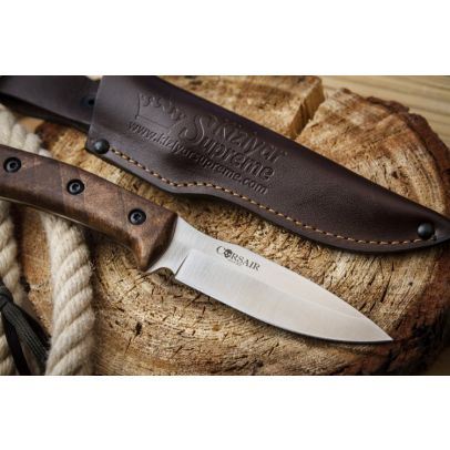 Нож Corsair AUS-8 Satin Walnut 201434-01