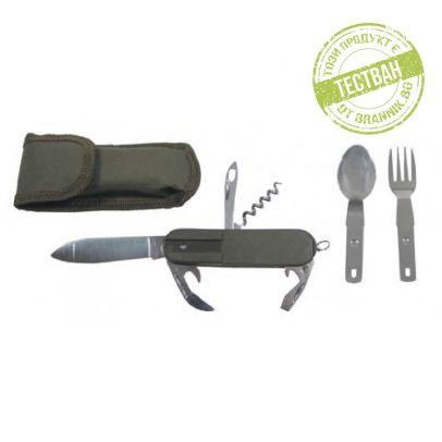 Джобен нож с прибори за хранене 200044-01