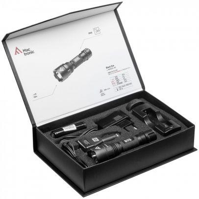 Фенер Mactronic BLACK EYE 420 със зарядно 201007-01