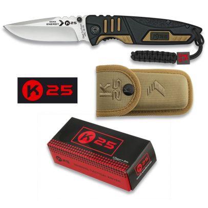 Тактически сгъваем нож K25 19774 201581-01