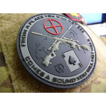 Гумена нашивка Sniper Sound 204109-02