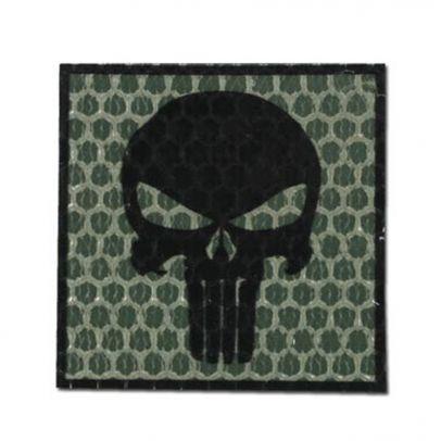 Нашивка Punisher зелен 202443-01