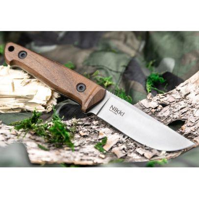 Бушкрафт нож Kizlyar Nikki Aus-8 LSW 201959-01