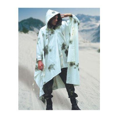Пончо от германската армия зимен камуфлаж 200402-01