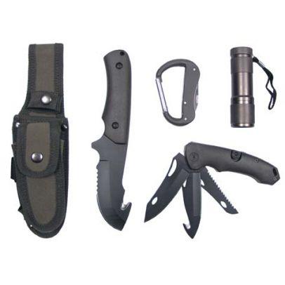 Тактически комплект ножове зелен 200471-01