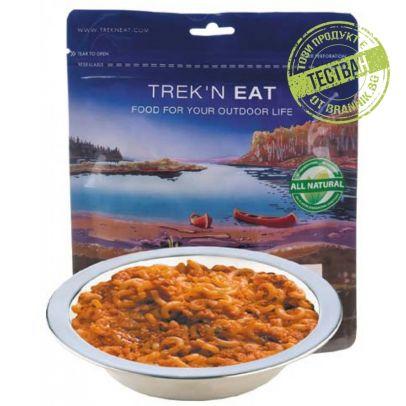 Trekn eat Спагети в сос Болонезе 200506-01