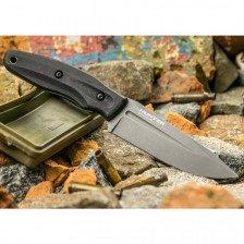 Боен нож Kizlyar CityHunter AUS-8 LSW Micarta