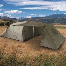 Триместна палатка с отделение за багаж