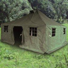 Военна палатка 4.8 х 4.8 м
