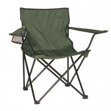 Сгъваем къмпинг стол с подлакътници Relax