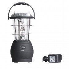Къмпинг лампа с 3 начина на зареждане