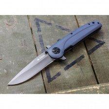 Сгъваем нож Kizlyar Biker X D2 Tacwash Grey G10