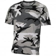 Детска камуфлажна тениска Urban Camo