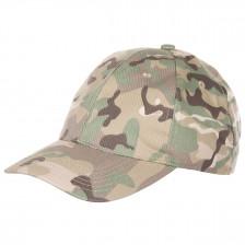 Детска камуфлажна шапка с козирка MFH