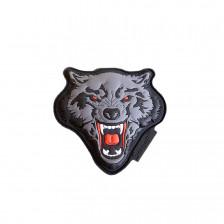 Гумена нашивка Angry Wolf
