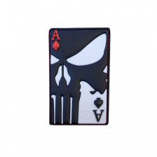 Гумена нашивка Punisher Ace of Spades