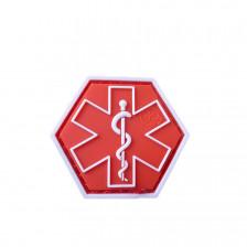Гумена нашивка Paramedic Hexagon