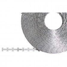 Поцинкована бодлива тел - права единична - 120 м