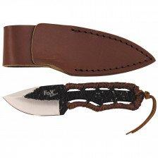 Нож с извито острие