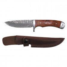 Ловен нож от дамаска стомана - 71 пласта