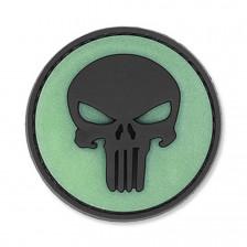 Нашивка Punisher Skull - черен