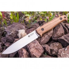 Бушкрафт нож Kizlyar Pioneer AUS-8 LightSW Walnut
