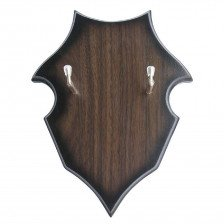 Дървена стенна стойка за мечове